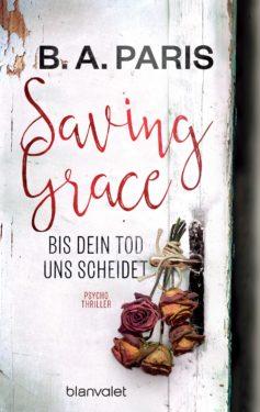Saving GraceBis dein Tod uns scheidet von BA Paris